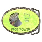 Frog Salad Buckle - Belt Buckle