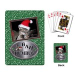 Bah Humbug Playing Cards - Playing Cards Single Design