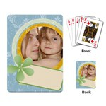 kids , pattern  - Playing Cards Single Design