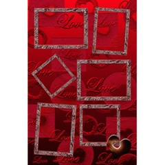 I Heart You Red Love Personal Notebook By Ellan   5 5  X 8 5  Notebook   2ecbyr5g11yt   Www Artscow Com Front Cover Inside