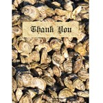 travel thank you - Greeting Card 4.5  x 6