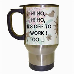 Off To Work I Go Mug #1 By Lil    Travel Mug (white)   4369cg0aevpv   Www Artscow Com Left
