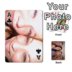 Ace Mels Bday Cards By Brittany Nelson   Playing Cards 54 Designs   C0n4hsa6epbr   Www Artscow Com Front - ClubA