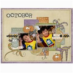 Calender2011 1 By Thaneenard   Wall Calendar 11  X 8 5  (12 Months)   I6a50cmufc5d   Www Artscow Com Month