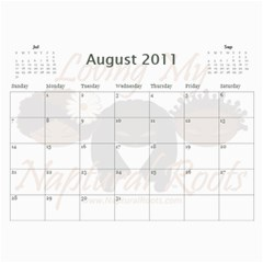 Naptural Roots 2011 Calendar By Leanne Dolce   Wall Calendar 11  X 8 5  (12 Months)   S1wxosl162hz   Www Artscow Com Aug 2011
