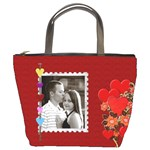 Red Hot Romance Bucket Bag
