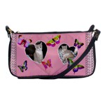 Butterfly Heart Shoulder Clutch Bag