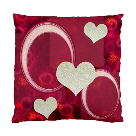 I Heart You Pink Pillow Cushion Case By Ellan   Standard Cushion Case (one Side)   Jp13wgh4bthh   Www Artscow Com Front