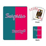 Birthday cards Party favor - Playing Cards Single Design