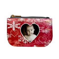 My Winter Valentine Mini Coin Purse By Catvinnat   Mini Coin Purse   7c6b29278984   Www Artscow Com Front