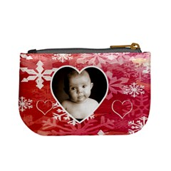 My Winter Valentine Mini Coin Purse By Catvinnat   Mini Coin Purse   7c6b29278984   Www Artscow Com Back