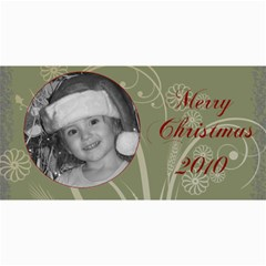 Merry Christmas 2010 By Amanda Bunn   4  X 8  Photo Cards   9mqd8sgtbf36   Www Artscow Com 8 x4 Photo Card - 9