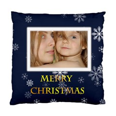Xmas By Wood Johnson   Standard Cushion Case (two Sides)   Gcux8vjiev2s   Www Artscow Com Front