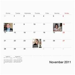 Calendar Katja By Irina   Wall Calendar 11  X 8 5  (12 Months)   Znk9dak4kbiw   Www Artscow Com Nov 2011