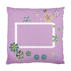 Custom Cushion Case (two Sides)  Cherish By Jennyl   Standard Cushion Case (two Sides)   Bgrof0a9fop8   Www Artscow Com Back