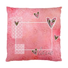 Custom Cushion Case (two Sides)  Love By Jennyl   Standard Cushion Case (two Sides)   H2a0d1fbto4w   Www Artscow Com Front
