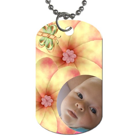 Melon Surprise Dog Tag By Joan T   Dog Tag (one Side)   Nou0ppstmwsc   Www Artscow Com Front