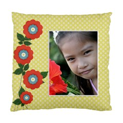 Custom Cushion Case (two Sides)   Flowers1 By Jennyl   Standard Cushion Case (two Sides)   Jwyzlist43lk   Www Artscow Com Front