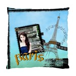 paris - Standard Cushion Case (Two Sides)