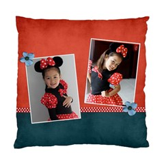 Cushion Case (two Sides) Template  Red&blue By Jennyl   Standard Cushion Case (two Sides)   Qv75vlidy6q0   Www Artscow Com Back