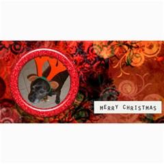 Xmas Photocard 3 By Joan T   4  X 8  Photo Cards   Oc3dqus0r1os   Www Artscow Com 8 x4  Photo Card - 1