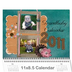 N And D Calendar  11 By Laura   Wall Calendar 11  X 8 5  (12 Months)   X5kriqvc4uo8   Www Artscow Com Cover