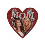 Diamond Mom Heart Magnet - Magnet (Heart)