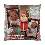 Santa Brought Us the BEST Present in 2010 Pillow Case Cover - Standard Cushion Case (Two Sides)