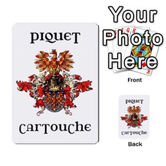 Cartouche Deck 1 By Gary Van Zandt   Playing Cards 54 Designs   7rj9k567eg7i   Www Artscow Com Back