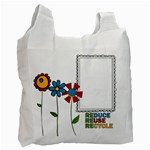 Reduce Reuse Bag Photo - Recycle Bag (One Side)