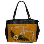 Lace Frames Handbag - Oversize Office Handbag (One Side)