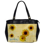 Sunflower Bag - Oversize Office Handbag (One Side)