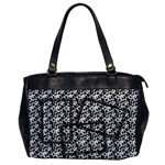 Cow print-Oversize Office Handbag - Oversize Office Handbag (One Side)