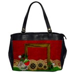 Strawberry-Oversize Office Handbag - Oversize Office Handbag (One Side)