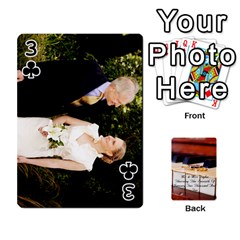 Wedding Cards By Emma   Playing Cards 54 Designs (rectangle)   W89qejs8gkhs   Www Artscow Com Front - Club3