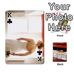 King Wedding Cards By Emma   Playing Cards 54 Designs (rectangle)   W89qejs8gkhs   Www Artscow Com Front - ClubK