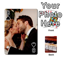 Wedding Cards By Emma   Playing Cards 54 Designs (rectangle)   W89qejs8gkhs   Www Artscow Com Front - Spade8