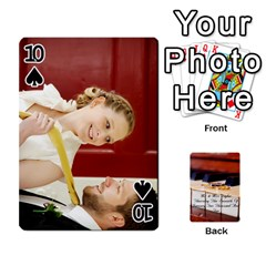 Wedding Cards By Emma   Playing Cards 54 Designs   W89qejs8gkhs   Www Artscow Com Front - Spade10