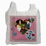 I Give You My Heart Recycle Bag - Recycle Bag (One Side)