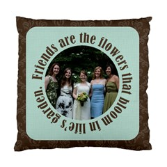 Friends 2 Sided Cushion By Klh   Standard Cushion Case (two Sides)   Ko0u5fkp29pw   Www Artscow Com Back
