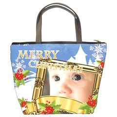 Xmas By Joely   Bucket Bag   Vlbw4omjaw3g   Www Artscow Com Back