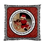 Family & Friends Christmas 2 Sided Cushion Case - Cushion Case (Two Sides)
