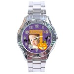 halloween - Stainless Steel Analogue Watch