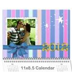 FAMILY CALENDAR 2012 - Wall Calendar 11  x 8.5  (12-Months)