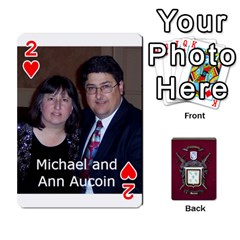 Deck2 By Michael Aucoin   Playing Cards 54 Designs   Iwlr36mpv05o   Www Artscow Com Front - Heart2