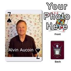 Deck2 By Michael Aucoin   Playing Cards 54 Designs   Iwlr36mpv05o   Www Artscow Com Front - Spade7