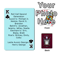 King Deck2 By Michael Aucoin   Playing Cards 54 Designs   Iwlr36mpv05o   Www Artscow Com Front - ClubK
