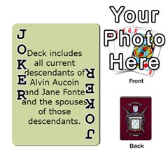 Deck2 By Michael Aucoin   Playing Cards 54 Designs   Iwlr36mpv05o   Www Artscow Com Front - Joker1