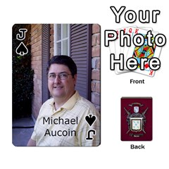 Jack Deck2 By Michael Aucoin   Playing Cards 54 Designs   Iwlr36mpv05o   Www Artscow Com Front - SpadeJ