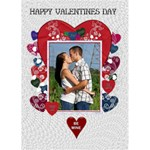 Key To My Heart Valentines Day Card - Greeting Card 5  x 7